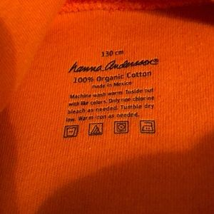 Hanna Andersson Shirts & Tops - Hanna Andersson Orange Pumpkin Turtleneck 130 8 7